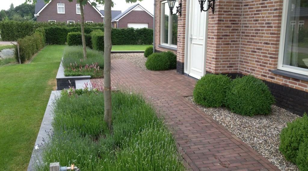 Aanleg tuin en bestrating